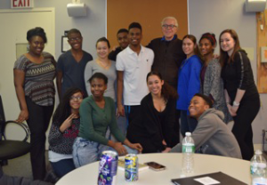 John Guare and friends at SpeakTogether